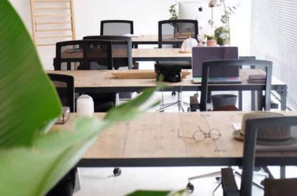 trabajo desde casa o en un coworking