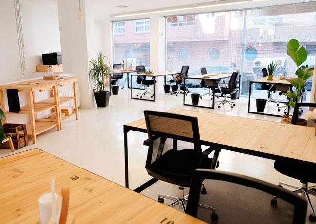 trabajar desde casa o en un espacio coworking